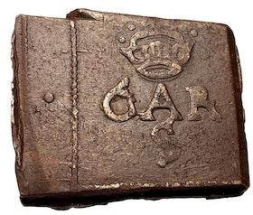 Gustav II Adolf - Nyköping - 2 Öre klipping 1626 - Ett ovanligt skarpt och tilltalande exemplar