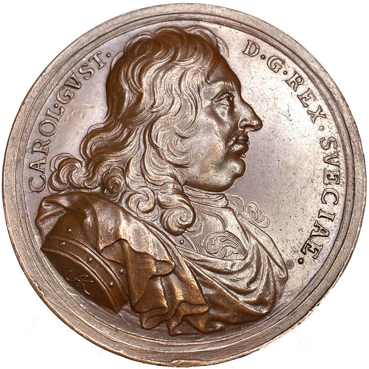 Karl X Gustav - Konungens lugn och självförtröstan av Arvid Karlsteen - MYCKET SÄLLSYNT - RR