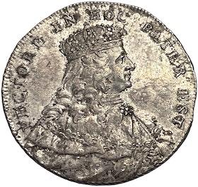 Adolf Fredrik 2 Mark 1751 - Kastmynt till kröningen - Tilltalande exemplar