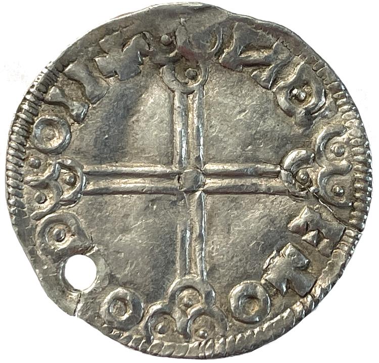 Olof Skötkonung, Sigtuna, Penning ca 995-1022 - RRR