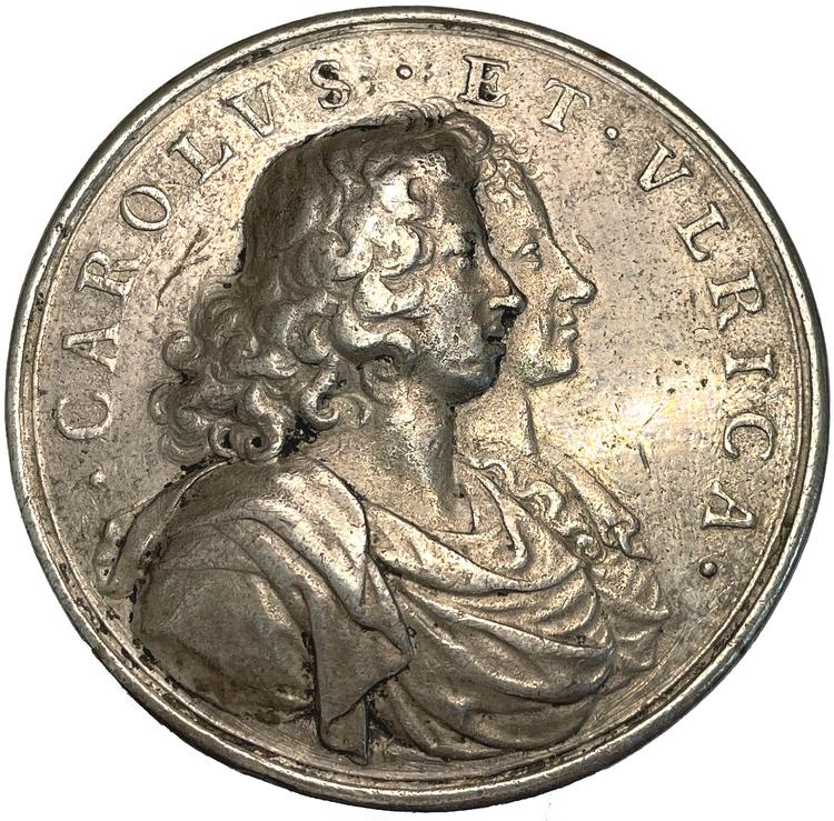 Karl XI:s giftermål 1680 med Ulrika Eleonora av Danmark av Arvid Karlsteen