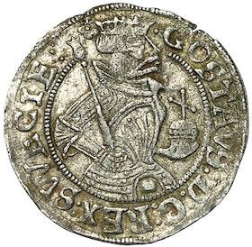 Gustav Vasa - Halvmark 1540 - MYCKET VACKERT EXEMPLAR