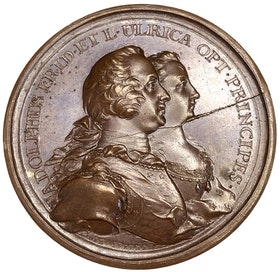 Adolf Fredrik - Gustav (III):s födelse 1746 av Daniel Fehrman - RAR