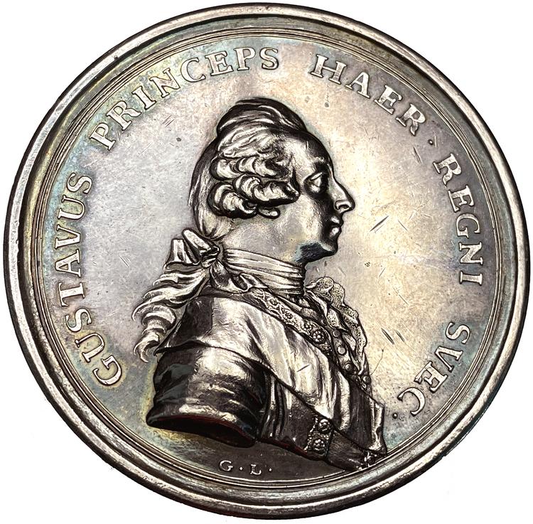 Kronprins Gustav (III) blir kansler för Uppsala Universitet 1764 - RR