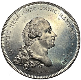Kungliga Hertig Karl - Vetenskapsakademiens vördnadsbetygelse 1792 - RR
