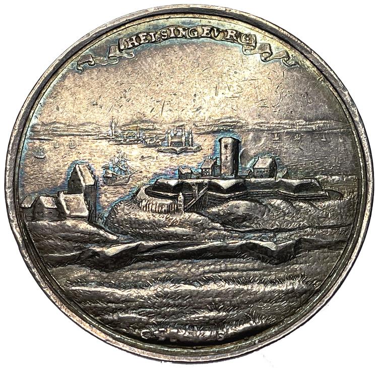 Det skånska kriget - Helsingborgs kapitualtion 1676 - Vacker och MYCKET SÄLLSYNT - RR
