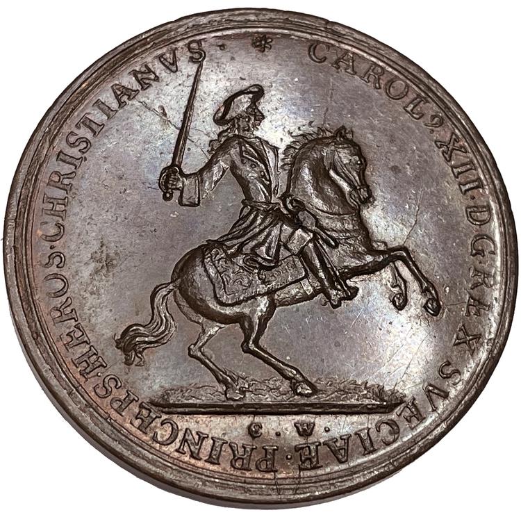 Karl XII - Belägringen av Fredriksstens fästning i Norge och konungens död 1718 av Wermuth - EXTREMT SÄLLSYNT - RRR