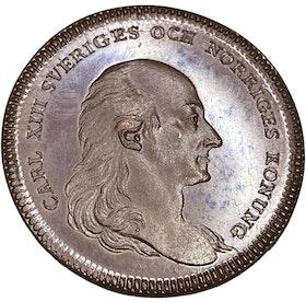 Karl XIII - Till tjänare vid hovet för lång och trogen tjänst -PRAKTEXEMPLAR - RRR