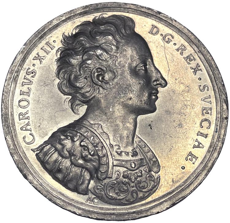 Moskoviterna besegrade vid Holowczyn 1708 – Karl XII:s sista seger - av Karlsteen & Westman - Möjligen UNIK HYBRID!