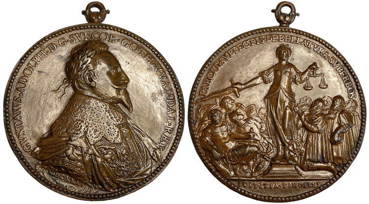 Gustav II Adolf - Erövringen av Würzburg 1631 - EXTREMT SÄLLSYNT