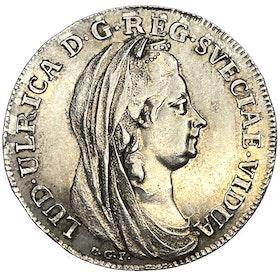 Lovisa Ulrika - Kastmynt till änkedrottningens begravning 1782