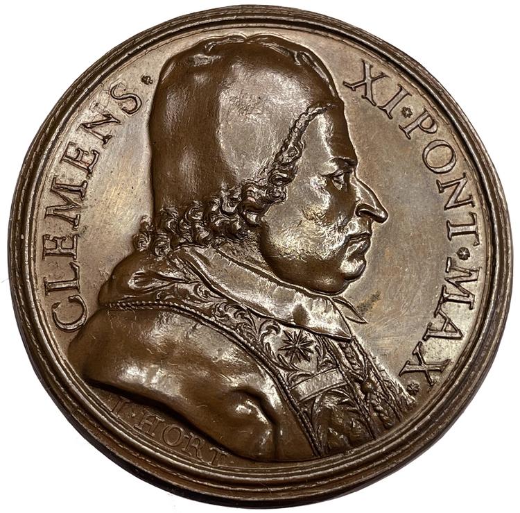 Drottning Kristinas minnesvård i Peterskyrkan 1702
