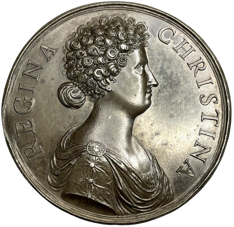 Kristina som Victoria Maxima av Giovanni Battista Guglielmada - TOPPEXEMPLAR - Möjligen UNIK hybrid