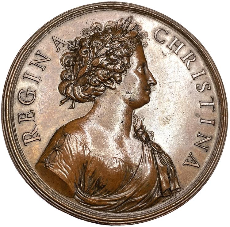 Kristinas självständighetsbegär av Giovanni Battista Guglielmada - SÄLLSYNT