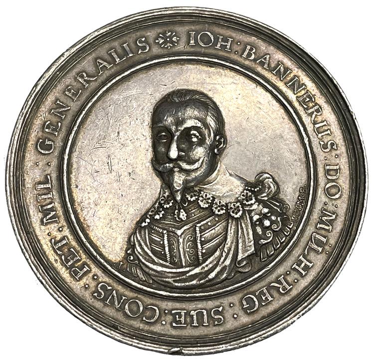 Johan Banér - Sveriges främsta fältherre genom tiderna - Av största historiska signifikans - Vackert exemplar