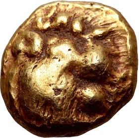 Kungadömet Lydien, Alyattes 1/12 guldstater ca 610-560 f.Kr - SÄLLSYNT