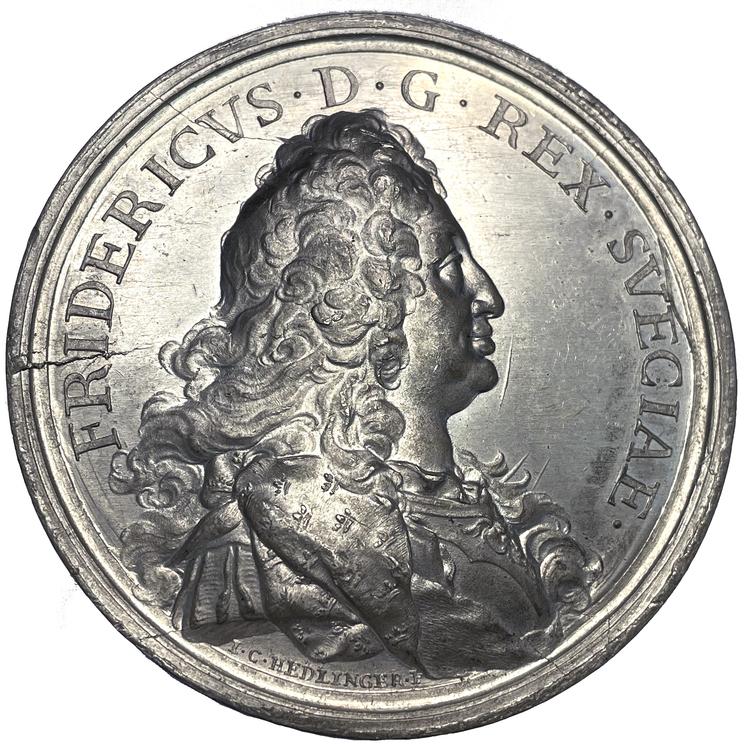 Fredrik I - Den Hessiska resan 1731 - Återkomsten till Sverige - PRAKTEXEMPLAR - RR