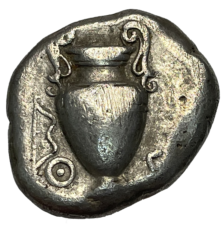 Boetia, Thebes, Stater ca 395-387 f.Kr