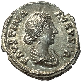 Faustina junior, gift med Markus Aurelius (161-180) - PRAKTEXEMPLAR