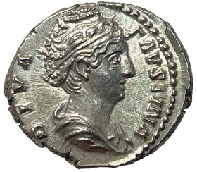 Faustina senior, gift med Antoninus pius (138-161) - PRAKTEXEMPLAR