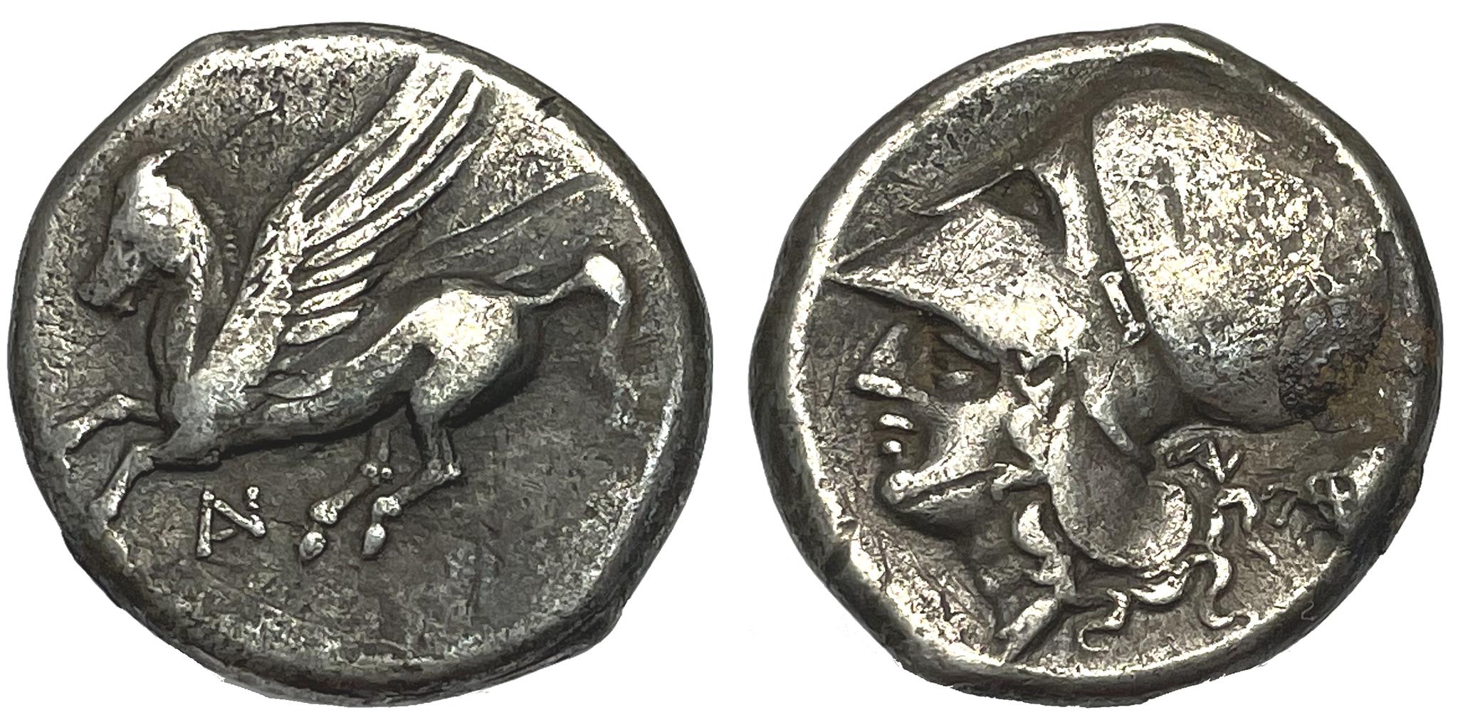 Akarnanien, Leukas, Stater ca 350-300 f.Kr