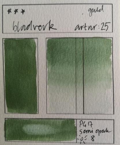 25 Bladverk