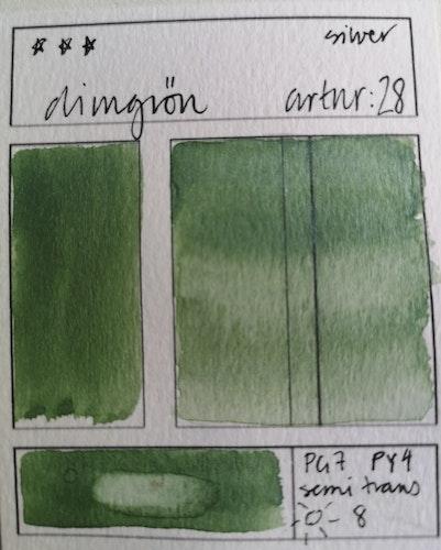 28 Dimgrön