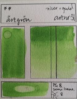 31 Ärtgrön