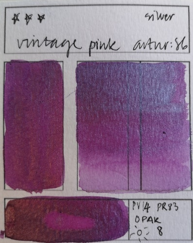 86 Vintage pink
