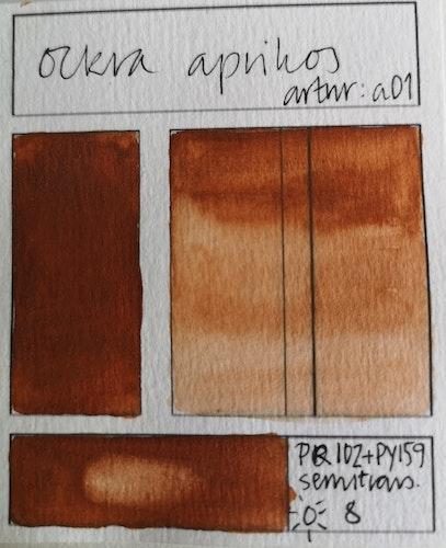 a01 Ockra aprikos