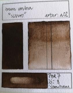a02 Brun umbra scuro
