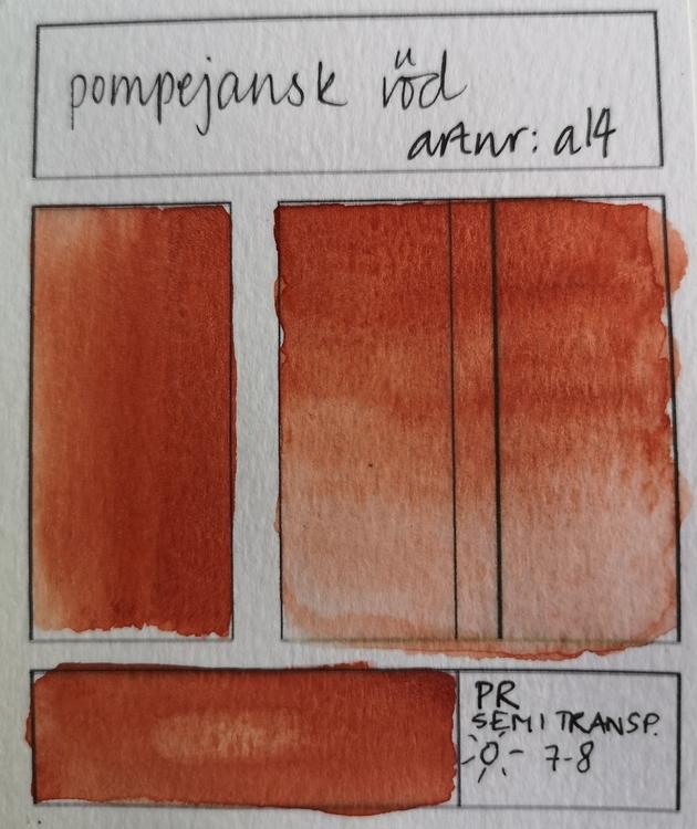 a14 Pompejisk röd