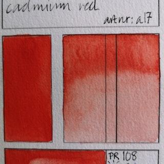 a17 Cadmium red hue
