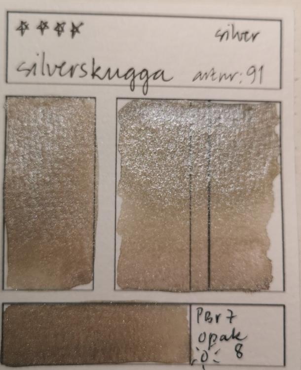 91 Silverskugga