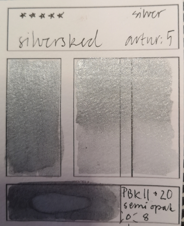 No 5 Silversked