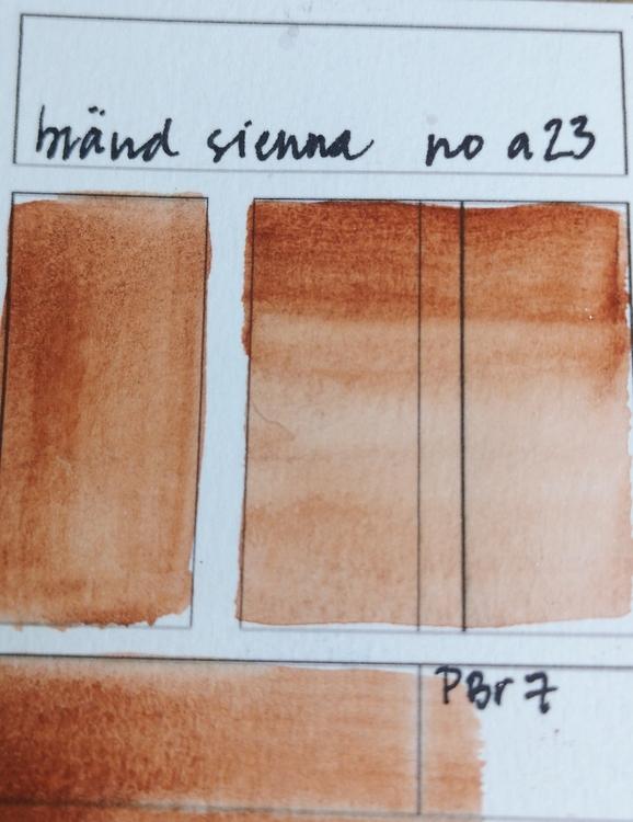 A23 Bränd Sienna