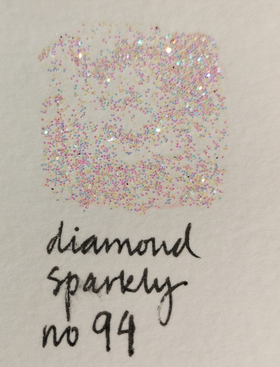 No 94 diamond sparkly