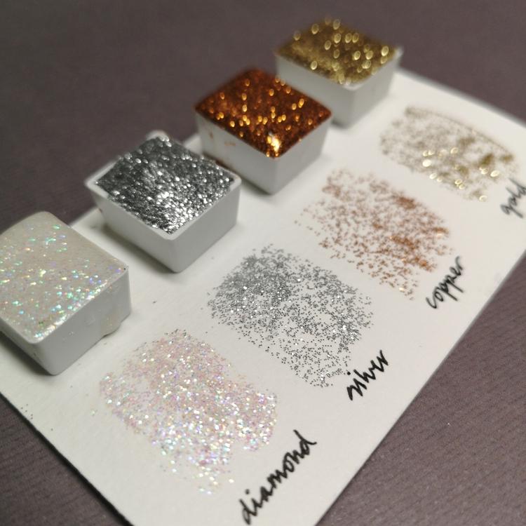 No 95 copper sparkly