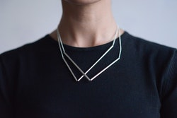 DOUBLE LINES - necklace