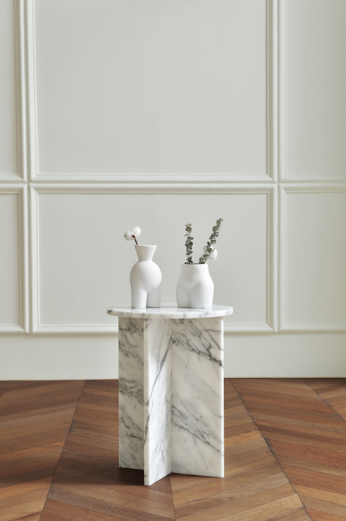 COMO Side Table Statuario