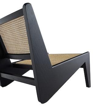 Kangaroo Lounge Chair svart