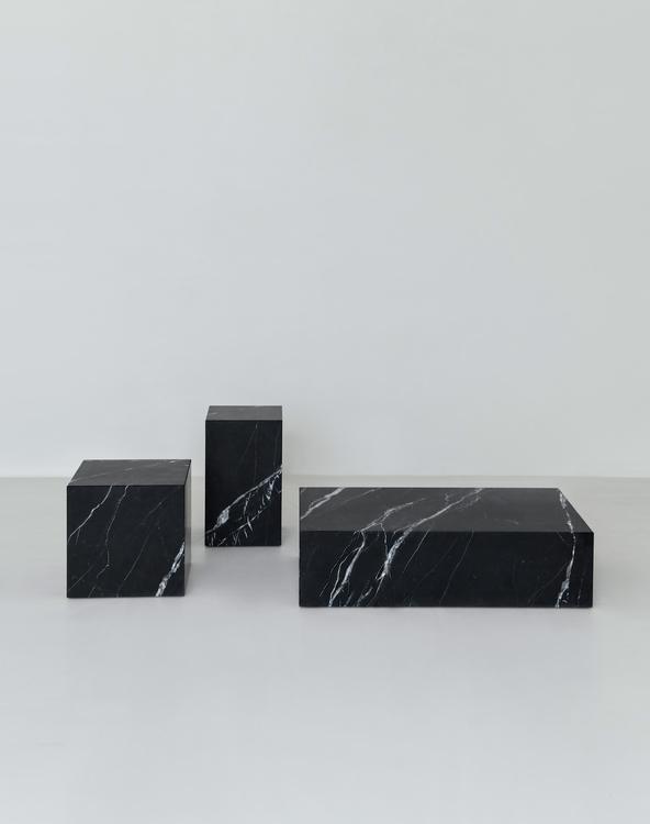 Flair Pedestal Nero Marquina