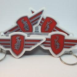 Nyckelring Zundapp Logga
