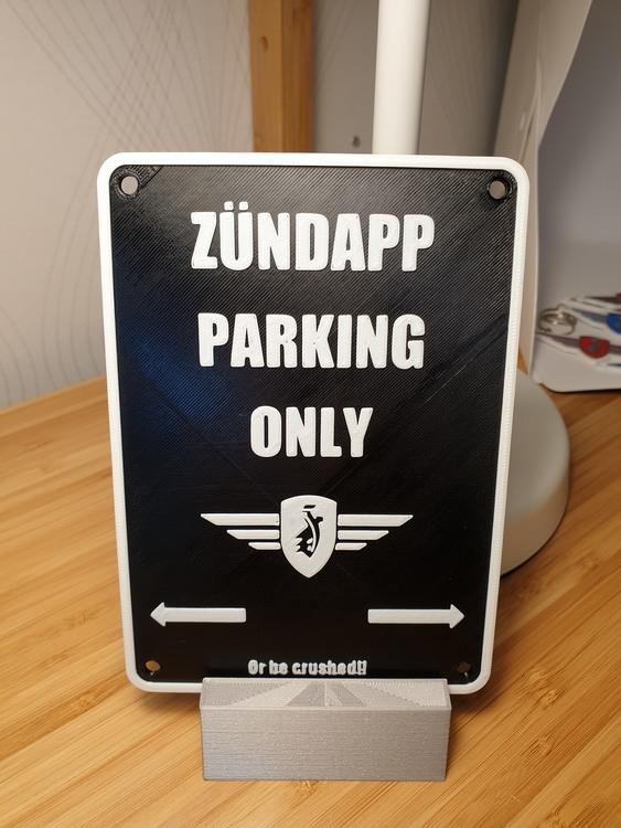 Zundapp Parking Only i 3D