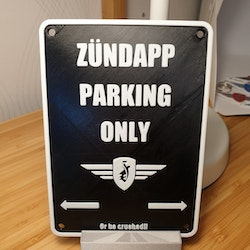 Zundapp Parking Only i 3D