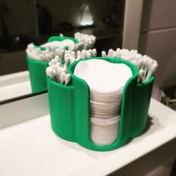 Tops och pads hållare 3D utskriven miljövänlig