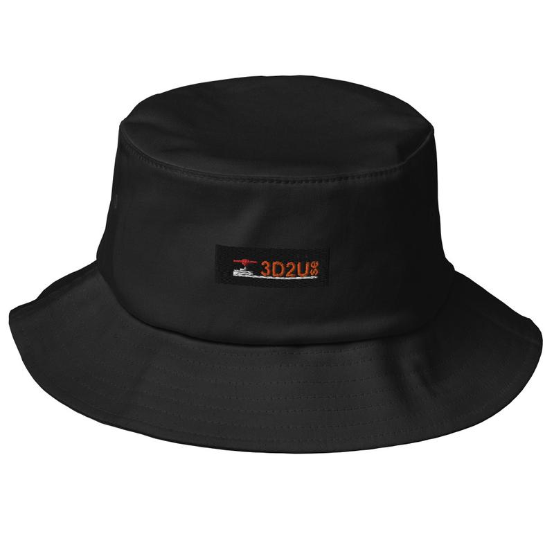 Old School Bucket Hat 3D2U