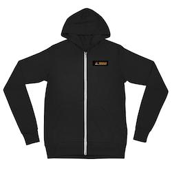 Unisex zip hoodie 3D2U