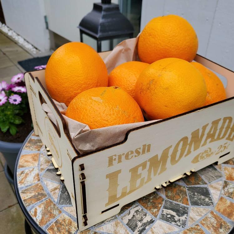 Trälåda Lemonade