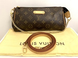 Authentic Louis Vuitton Eva Monogram Canvas